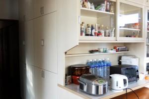 食器棚(L字型)